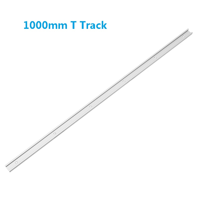 1Pcs 1000mm Length T Track Aluminum Alloy T-Slot Miter Track Jig Fixture For Router Table Saw Woodworking Tool
