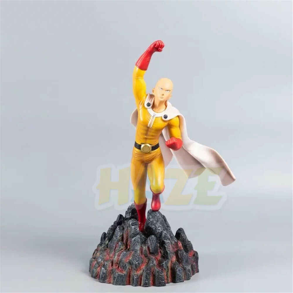 Anime Saitama One Punch Man Pvc Action Figure Statue Model Toy Collection One Punch Man Figure Toys In Box 30cm Action Toy Figures Aliexpress