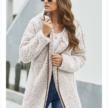 Designer Thick Womens Winter Coats Fashion Warm Cardigan Cloting Plus Size Casual Hooded Women Winte