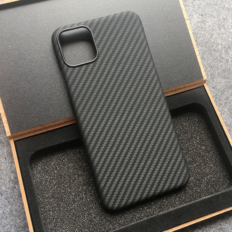 Kevlar real pure carbon fiber ultra-thin mobile phone case shell for iPhone 7 8 plus X S R 11 pro Max hard business phone cover