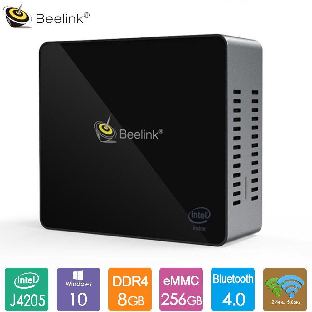 Beelink J45 Office Mini PC Intel J4205 Windows 10 4GB/8GB DDR4 128GB/256GB 2.4G 5.8G Dual WiFi BT4.0 Support Netfix 4K H.265