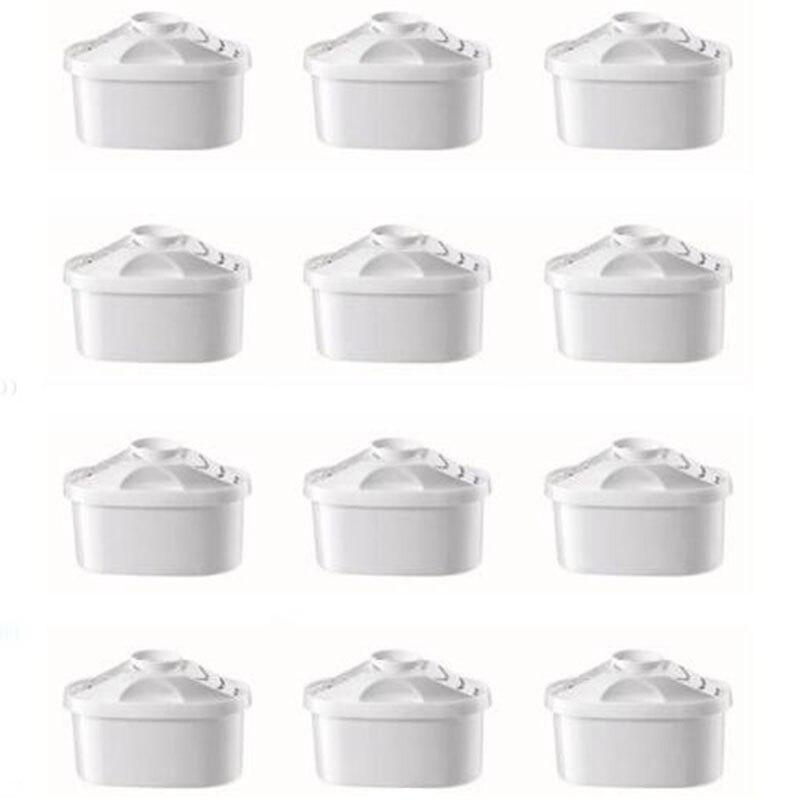 12 pièces cartouches de filtre à eau filtre universel pour BRITA