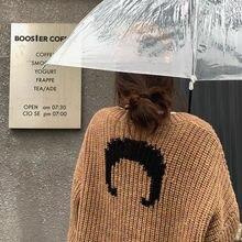 Осень зима 2020 новый модный шерстяной вязаный пуловер альпака