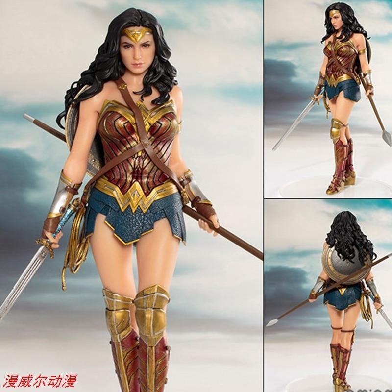 American TV Series Hero Movie Related Products Garage Kit Art Wonder Woman Justice League Artfx Garage Kit Model Material Its