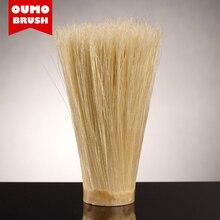 OUMO BRUSH cepillo de pelo de cerdas de jabalí, cepillo de afeitar con nudo