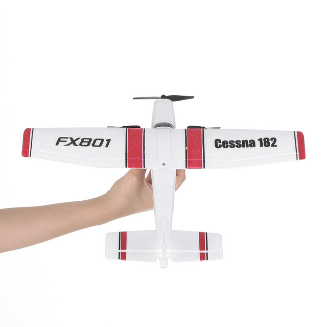 FX801 RC Plane Cessna 182 2.4GHz 2CH RC Airplane Durable 20 Minutes Flying Time Outdoor RC Aircraft Model Toys for Beginner 3