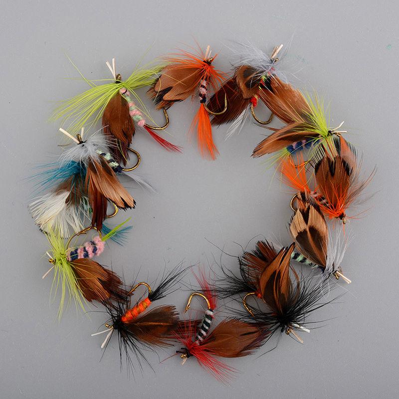 12Pcs/Set  Fly Fishing  Bait  4
