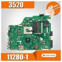 11280 MB 11280 1 1 For dell 3520 DV15 MLK PWB: MXRD2 REV: a00 laptop motherboard PARA dell INSPIRON 3520 HM75 Teste