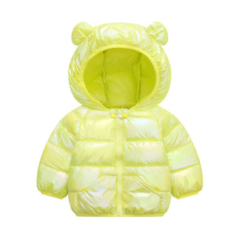 LZH 2020 Autumn Winter Newborn Baby Clothes For Baby Boys Jacket Baby Dinosaur Print Outerwear Coat For Infant Baby Girls Jacket 15