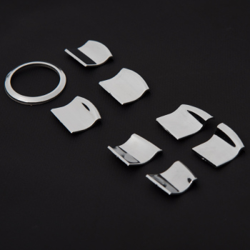Dla Nissan TEANA dla Nissan QASHQAI dla Nissan Tiida wysokiej jakości okno ABS przycisk i widok z tyłu lustro pierścień regulacji tanie i dobre opinie Chromowa stylizacja 0 2kg for Nissan Tiida 2011-2019