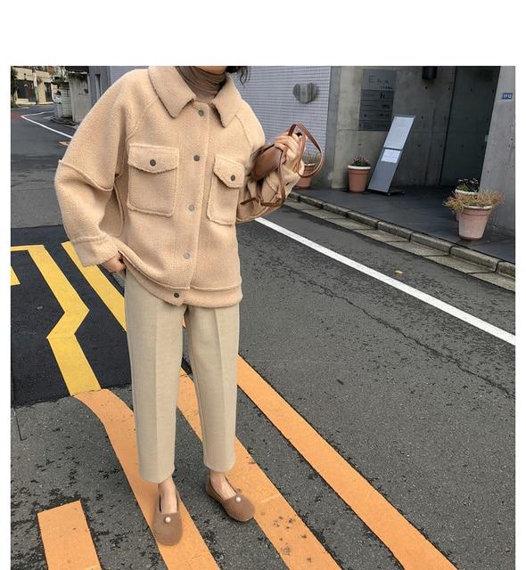 2020 début printemps anti peau de mouton manteau femme nouveau manteau en peluche en vrac chemise veste 2