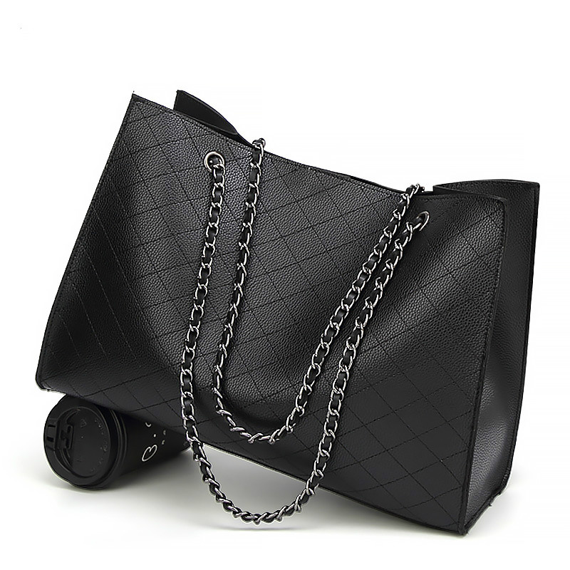 Sacs en cuir pour femmes sacs à main de luxe femmes sacs Designer grand fourre-tout sac à main chaîne en cuir sac à main ensemble Bolsa Feminina