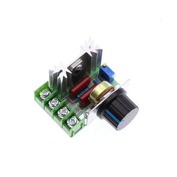 AC 220V 2000W SCR Regulator napięcia ściemniacze ściemniacze Regulator prędkości silnika termostat elektroniczny Regulator napięcia moduł tanie i dobre opinie Jarhead CN (pochodzenie) JEDNOFAZOWE