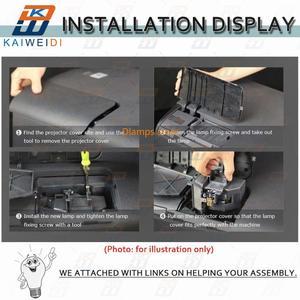 Image 4 - VLT HC3800LP Lámpara de repuesto para proyector Mitsubishi, 499B056O20 HC4000 HC3800 HC3200 HC3900 HC3200u HC3800u HC3900u HC4000u
