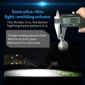 Image 2 - CNSUNNYLIGHT przeciwmgielne z przodu samochodu żarówka LED światła biały H11 H8 9006 H1 H3 880 PSX24W PSX26W P13W H7 9005 5000Lm DC 12V Auto DRL Foglamp