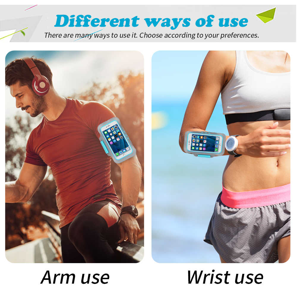 GymกีฬาArm Bandโทรศัพท์กรณีมือArm BandสำหรับiPhone SE 2020 XS X 8 7 6 6Sโทรศัพท์กระเป๋าวงแขน