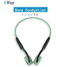 Bluetooth 5.0 oryginalne słuchawki z przewodnictwem kostnym słuchawki bezprzewodowe słuchawki sportowe zestawy głośnomówiące wsparcie Drop Shipping