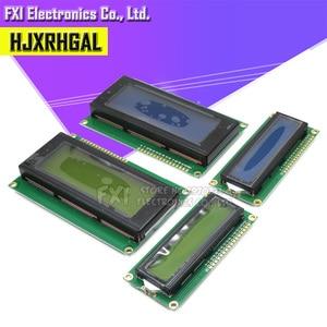 ЖК-дисплей монитор lcd 1602 lcd 2004 1602 2004 16X2 20X4 5V символ зеленый/синий экран с подсветкой и IIC IEC для arduino