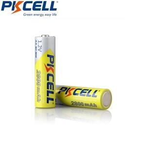 Image 4 - 10 PCS 2A PKCELL AA 2600 ~ 2800 mah baterias recarregáveis 1.2 v ni mh para lanterna brinquedo câmera de alta capacidade