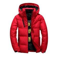 Veste dhiver à capuche pour homme, manteau en duvet de canard épais et chaud pour homme, Parka de haute qualité, manteau dhiver 2020