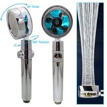 360 Degree Rotated Shower Head High Pressure Water Saving Spray Shower Head Bathroom Hand-held Pressurized Massage Shower Heads