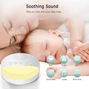 Noise-Machine Assisted-Sleep-Instrument Music-Aid Environment Sleep-Therapy White Baby