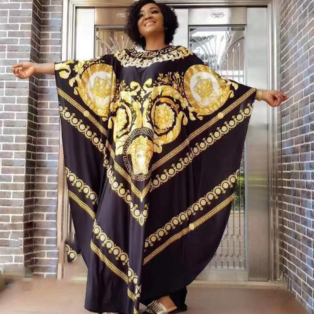 African Dresses For Women 2020 Dashiki Summer Plus Size Dress Ladies Traditional African Clothing Fairy Dreams