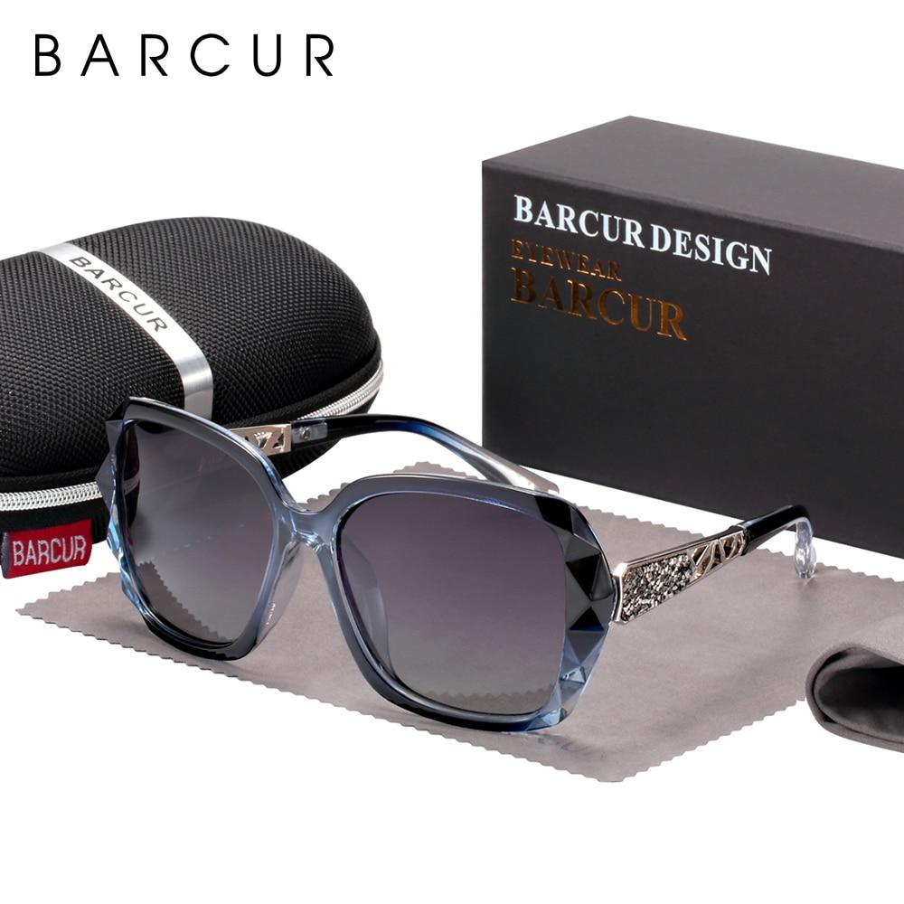 BARCUR Original Sunglasses Women Polarized Elegant Design For Ladies Sun Glasses Female 7