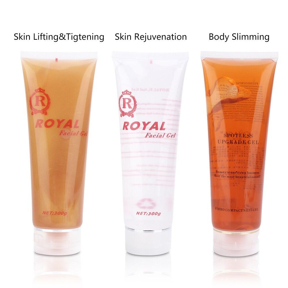 300ml Ultrasonic RF Machine Moisturizing Cream Gel Inject Gel Massager Beauty Device Lifting Tighten Rejuvenation Body Slimming