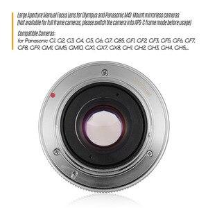 Image 5 - Andoer 25Mm F1.8 Handmatige Focus Camera Lens Grote Diafragma Fotografie Voor Fujifilm Fx Mount Mirrorless Canon Eos Olympus camera