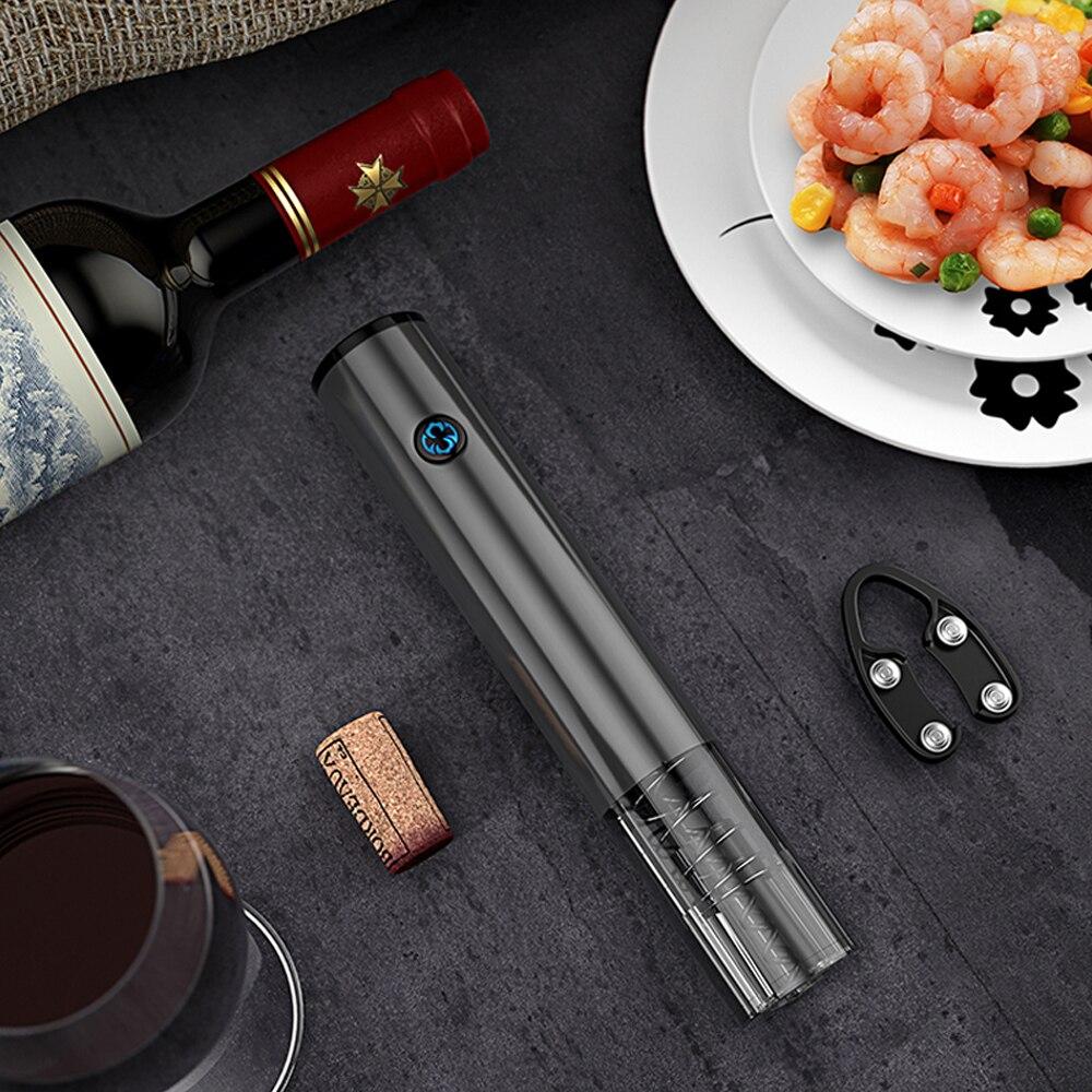Kitchen USB Charging Electric Wine Opener Automatic Bottle Opener Tableware