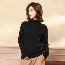 high quality Women Turtleneck Winter Sweater Cashmere Knitted Sweaters And Pullovers Female Jumper  Tops