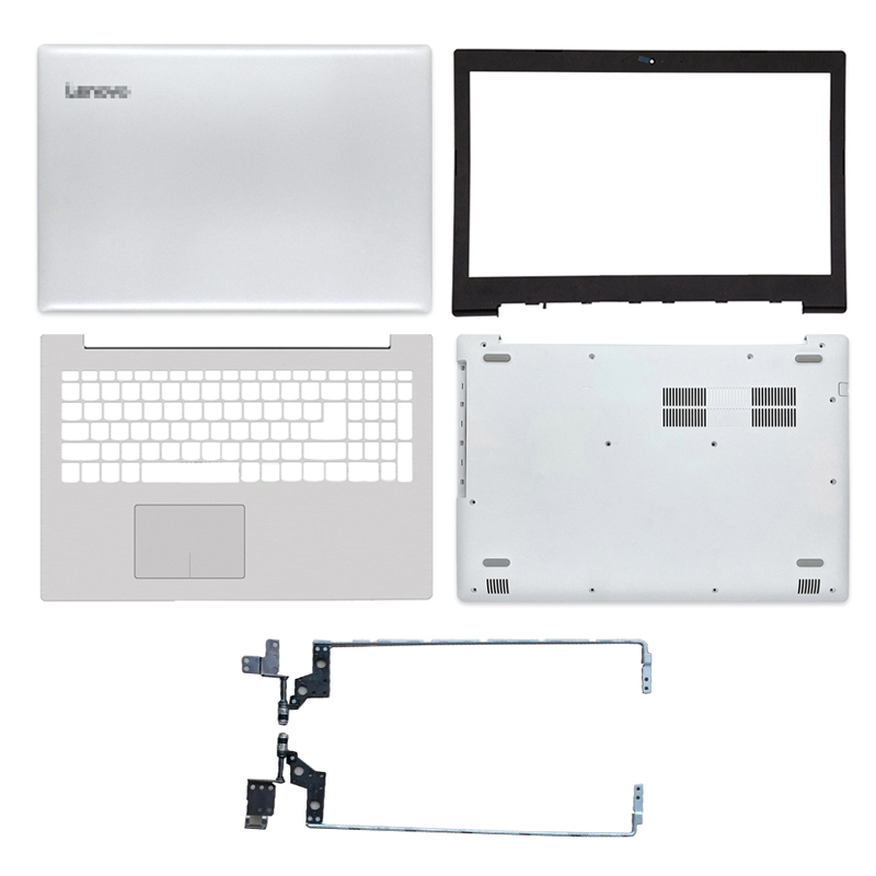 NEW For Lenovo IdeaPad 320-15 320-15IKB 320-15ISK 320-15ABR Lcd Back Cover/Front Bezel/Palmrest/Bottom Case/Hinges White