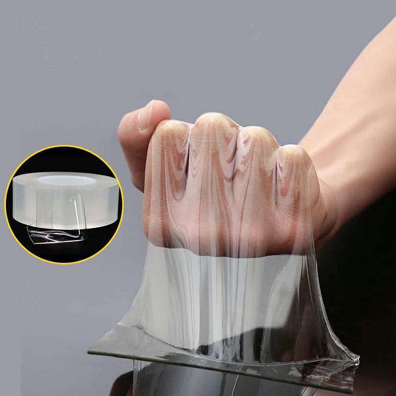 5/3/2/1M Strong High Viscosity Multi-function Kitchen Bathroom Seamless Waterproof Mildew Car Reusable Nano Double-sided Tape
