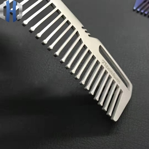Image 4 - Titanium Comb For Men And Women Comb Hair Cutting Comb EDC