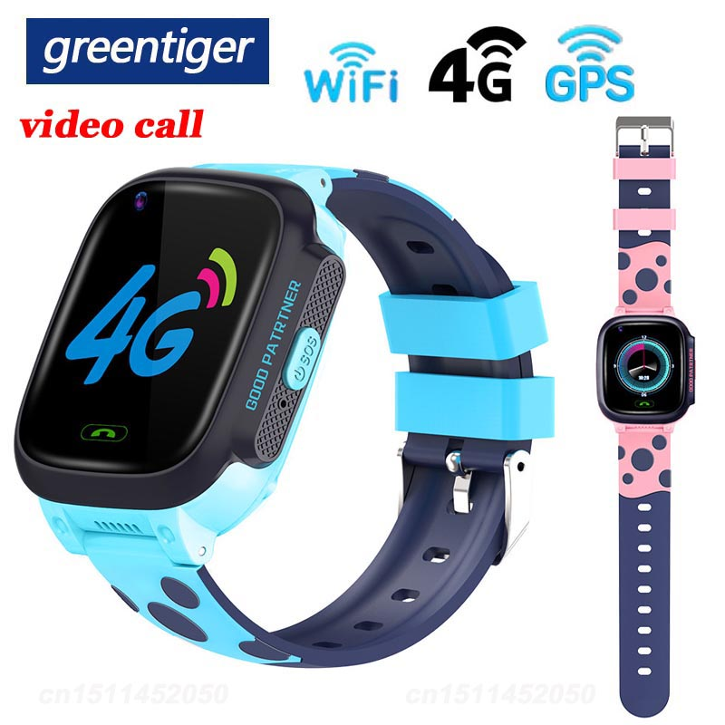 Greentiger 4G Smart Watch Baby Video Call GPS WIFI SOS Y95 kids Smartwatch Camera Clock Tracker IP67 Waterproof VS A36E Q90-in Smart Watches from Consumer Electronics on AliExpress