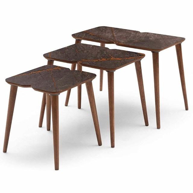 3 PCs Modern Coffee Table  4