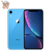 Original Unlocked Apple iPhone XR Mobile Phone 6.1inch LCD Display Hexa Core IOS Fingerprint Face ID NFC Apple Smartphone 1