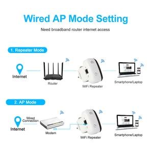 Image 4 - واي فاي مكرر موسع واي فاي 300Mbps مكبر للصوت معزز Wi Fi واي فاي إشارة 802.11N طويلة المدى اللاسلكية واي فاي مكرر نقطة الوصول