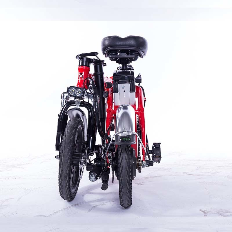 M2 Folding Electric Bicycle 48V Lightweight E-Bike Mini Electric Bike Aluminum Alloy Frame Foldable Ebike with Removable Battery 4