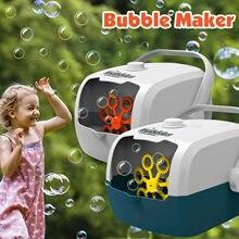 Máquina automática portátil da bolha da forma do fogão de arroz da máquina da bolha para crianças dos miúdos bolha elétrica que faz a máquina brinquedo de festa