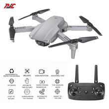 E99 Pro RC Drones With Camera HD 4K Optical Flow Levitation Wide Angle Dual Cameras Smart Follow Me Foldable Dron Wifi FPV Drone
