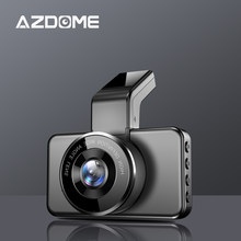 AZDOME M17 Dash Cam 1080P HD Visão Noturna HD ADAS Carro Dashcam WiFi DVR Dupla Lente Câmera de Carro 24H Gravador de Vídeo de Estacionamento