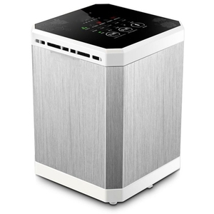 SANQ Ionizer Air Purifier Negative Ionizer Timing Quiet Activated Carbon Air Purifier for Home Office Remove Formaldehyde Smoke(China)