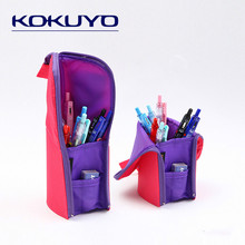 KOKUYO Standing Pencil Case Two-in-one Bag Multifunction Deformation Pouch High-capacity Pen School Stationery