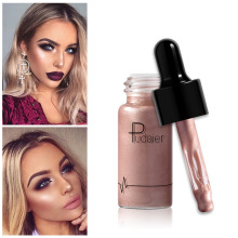 Wholesale Pudaier Liquid Highlighter Shimmer Shine Lips Face Bronzer Highliter Countour Makeup Highlight Lluminador Maquiagem недорого