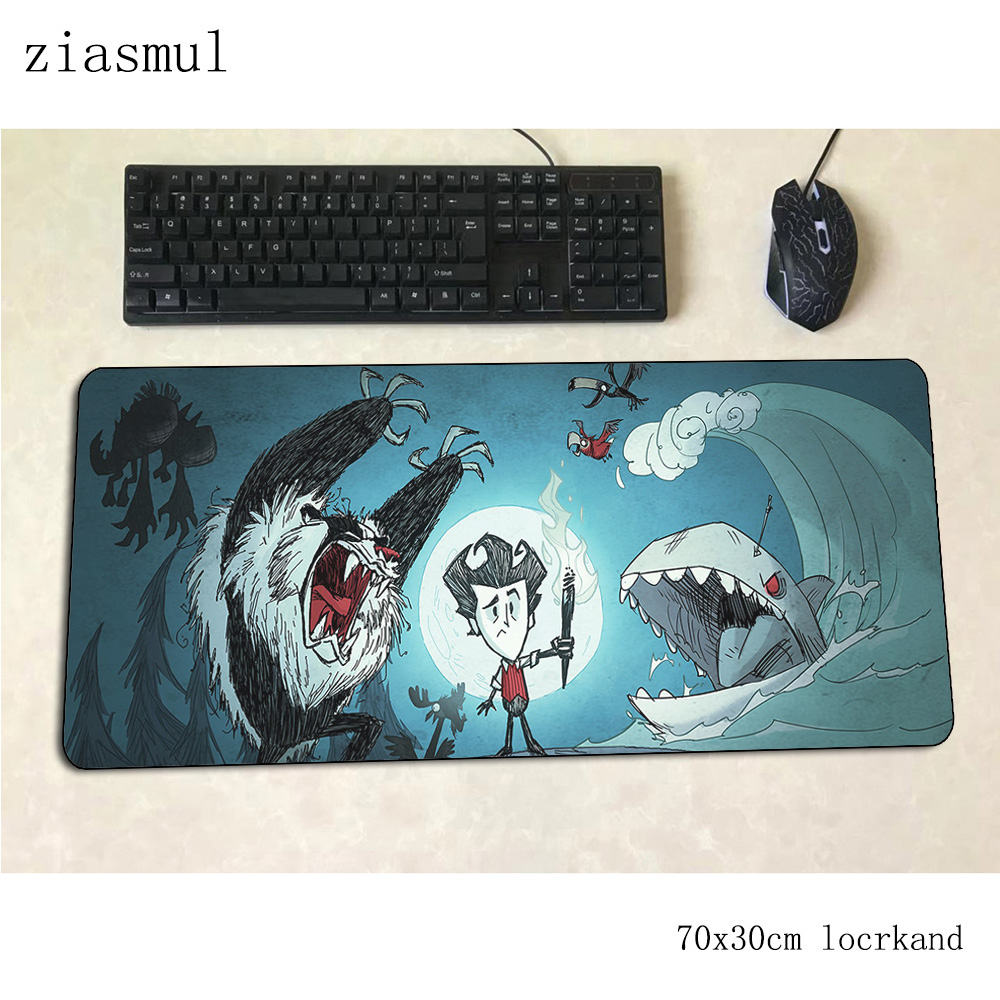 Dont Starve Mouse Pad Gamer Big 70x30cm Gaming Mousepad Pc Notbook Desk Mat Cute Padmouse Games High Quality Gamer Mats Gamepad