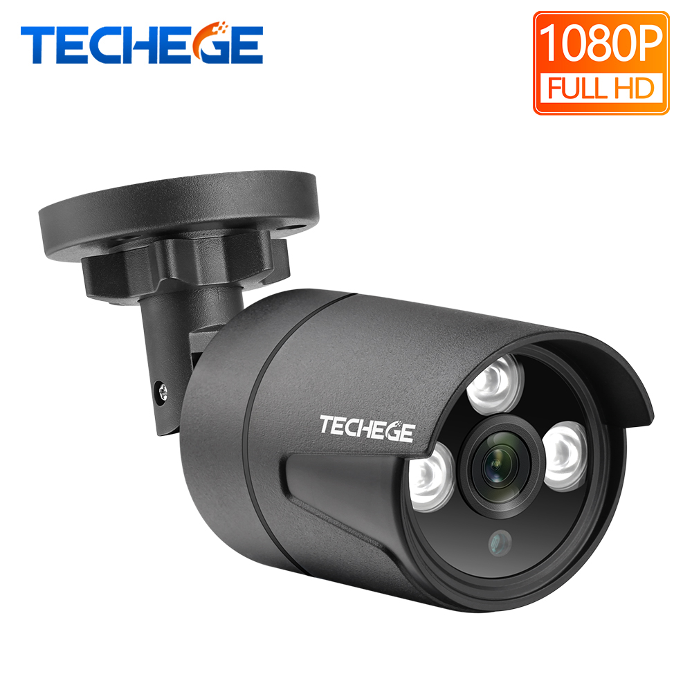 Techege HD 1080P AHD Camera CCTV Bullet Camera Waterproof IR Night Vision 2400TVL Security Camera For AHD Camera System