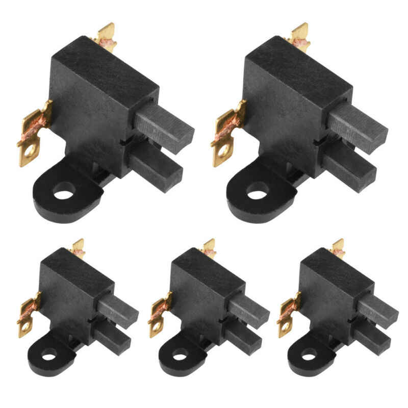 5pcs Carbon Brushes Set Assembly Parts For 2kw-3kw Gasoline Generator New