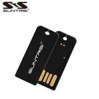 Suntrsi 2.0 usb flash drive mini 32 gb de alta velocidade pendrive alta qualidade preto plástico otg adaptador frete grátis